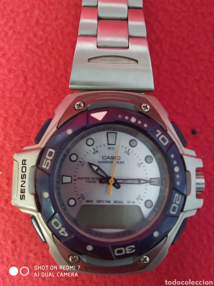 Relojes automáticos: RELOJ CASIO MARINE GEAR MRS -301 - Foto 2 - 229506540