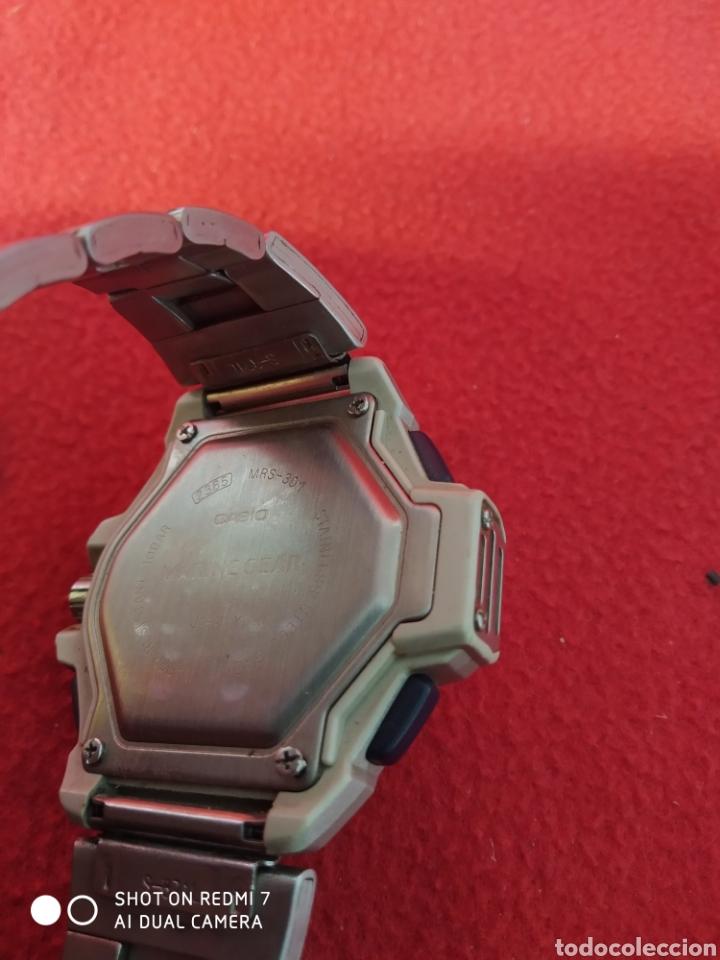 Relojes automáticos: RELOJ CASIO MARINE GEAR MRS -301 - Foto 4 - 229506540