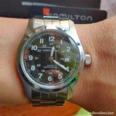 Relojes automáticos: RELOJ AUTOMÁTICO HAMILTON KHAKI FIELD 42MM FULLSET. Lote 229515210
