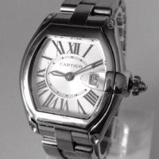 Relojes automáticos: CARTIER ROADSTER-ACERO ¡¡COMO NUEVO!!. Lote 52324598