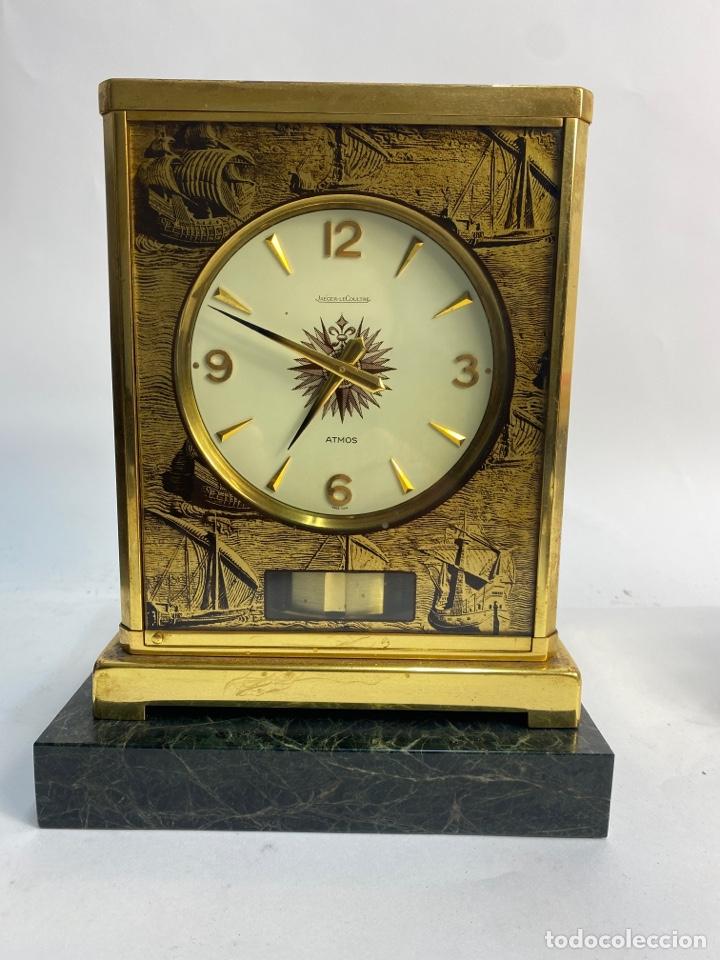 RELOJ DE SOBREMESA ATMOS JAEGER-LE COULTRE, SWISS. AÑOS 70. FUNCIONA. (Relojes - Relojes Automáticos)
