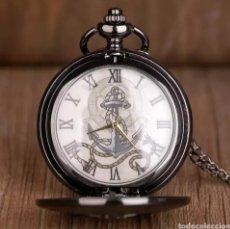 Orologi automatici: RELOJ DE BOLSILLO ANCLA. NUDO MARINERO. BLACK. Lote 231317540
