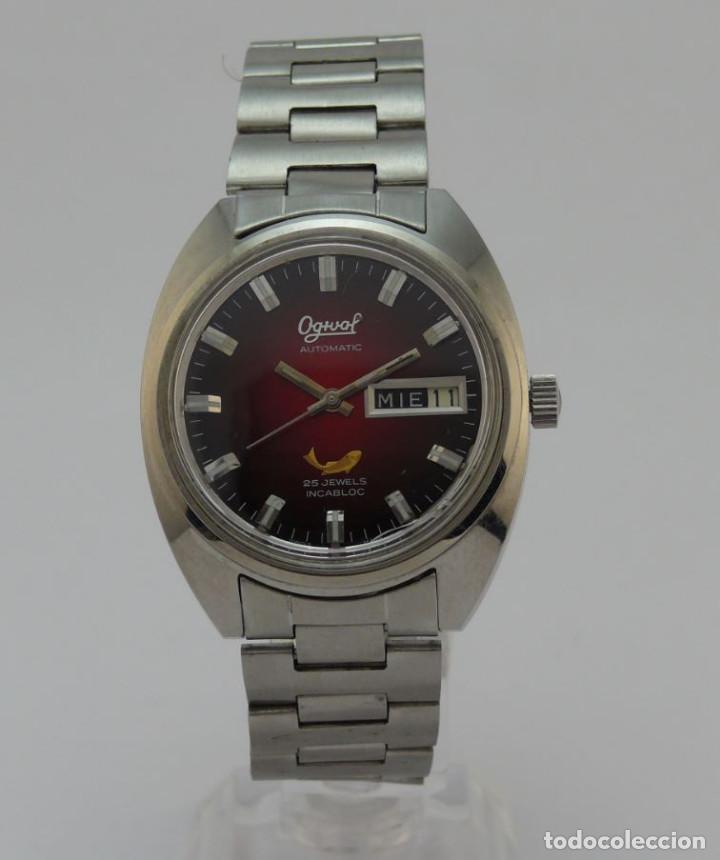 OGIVAL AUTOMATICO CAL AS 2066 (Relojes - Relojes Automáticos)