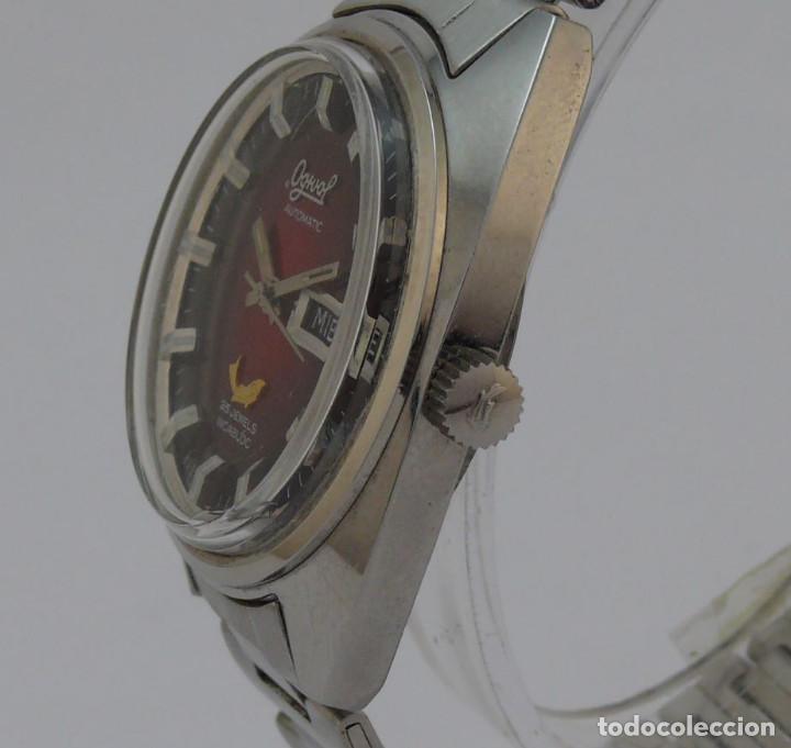 Relojes automáticos: OGIVAL AUTOMATICO CAL AS 2066 - Foto 3 - 232850730