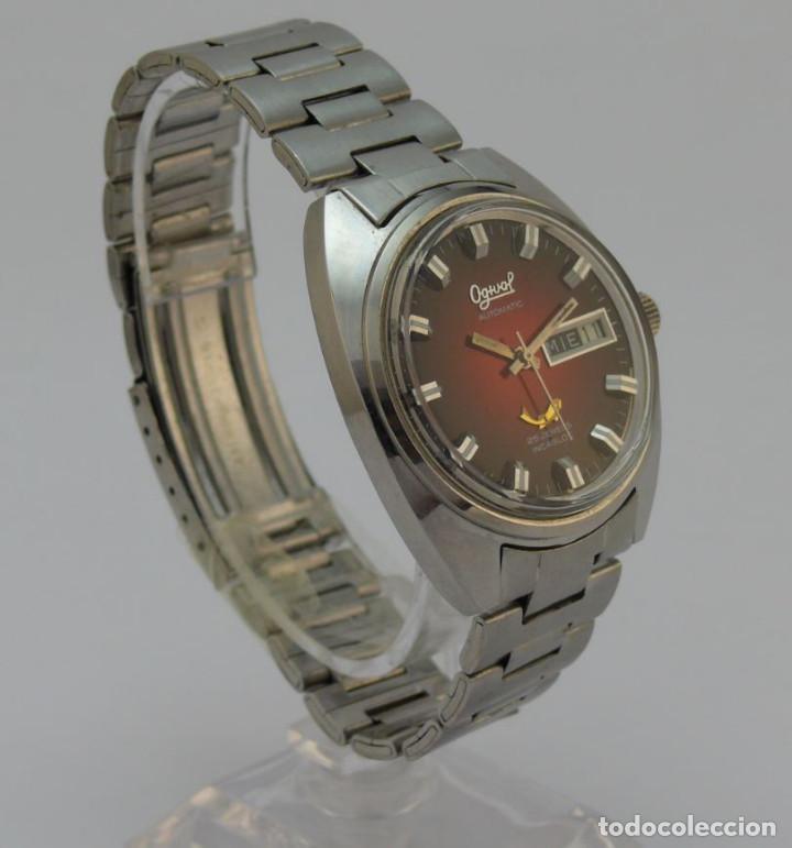 Relojes automáticos: OGIVAL AUTOMATICO CAL AS 2066 - Foto 4 - 232850730
