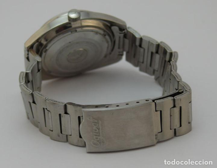 Relojes automáticos: OGIVAL AUTOMATICO CAL AS 2066 - Foto 6 - 232850730
