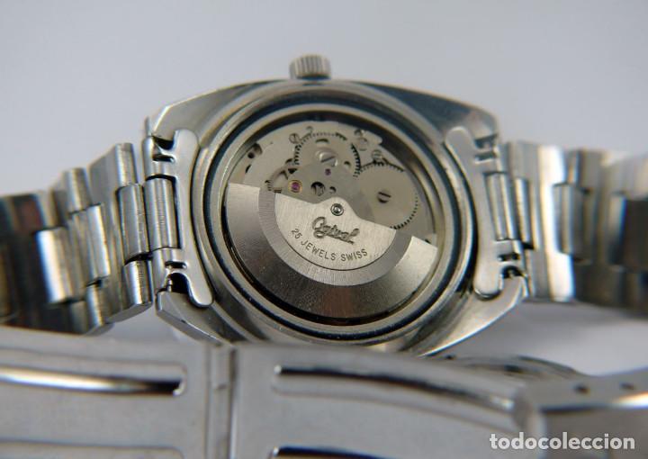 Relojes automáticos: OGIVAL AUTOMATICO CAL AS 2066 - Foto 7 - 232850730
