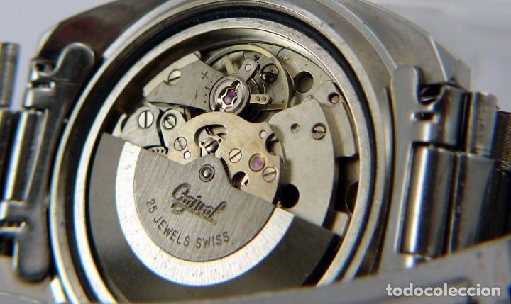 Relojes automáticos: OGIVAL AUTOMATICO CAL AS 2066 - Foto 8 - 232850730