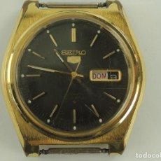 Relojes automáticos: VINTAGE RELOJ DE PULSERA SEIKO 5 AUTOMATIC 21 JEWELS JPAN CON CALENDARIO. Lote 235027085