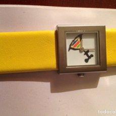 Relojes automáticos: RELOJ CON LA FIRMA DE DALÍ. Lote 235094470