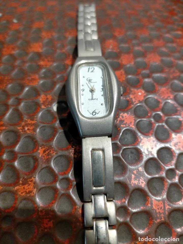 Relojes automáticos: Antiguo reloj marca Bernamá con esfera con forma oval para señora años 90 - Foto 2 - 235162600
