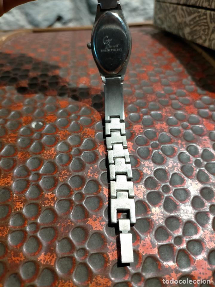 Relojes automáticos: Antiguo reloj marca Bernamá con esfera con forma oval para señora años 90 - Foto 4 - 235162600