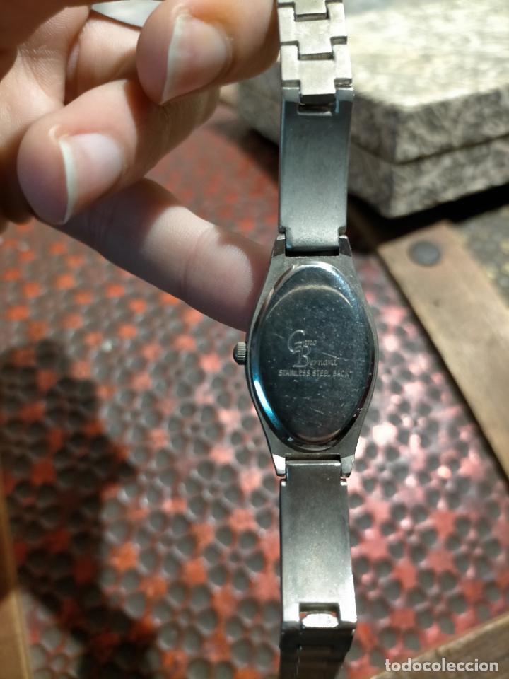 Relojes automáticos: Antiguo reloj marca Bernamá con esfera con forma oval para señora años 90 - Foto 5 - 235162600