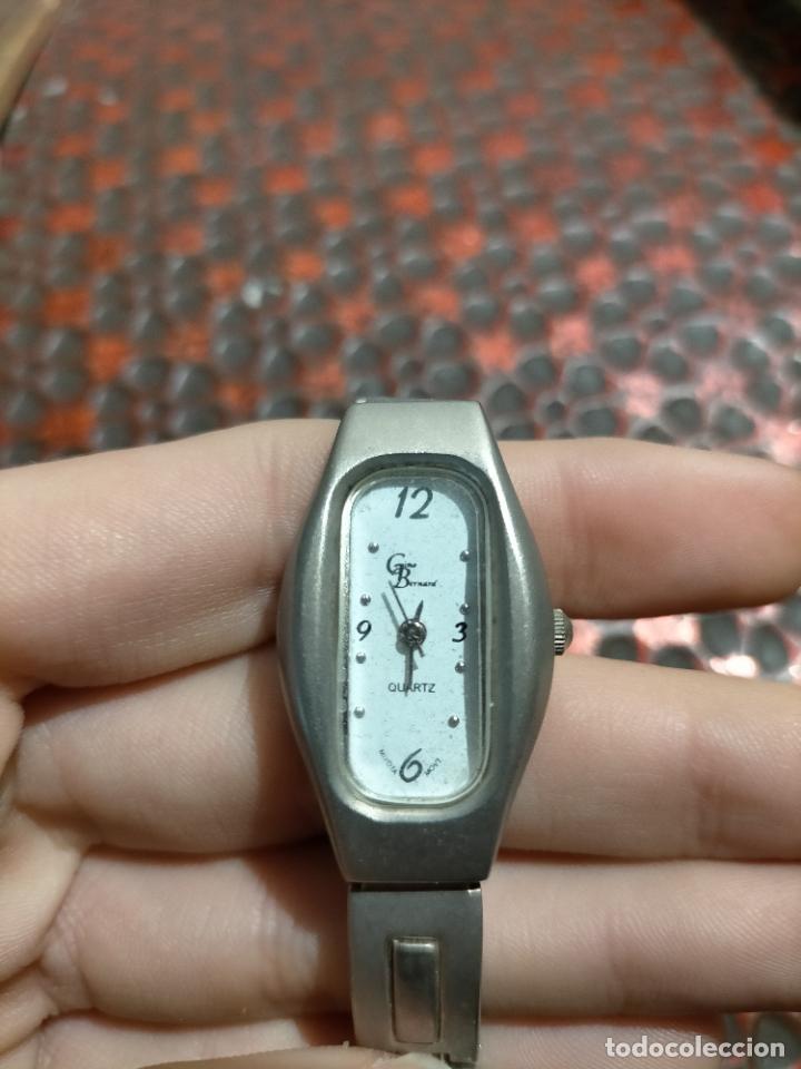 Relojes automáticos: Antiguo reloj marca Bernamá con esfera con forma oval para señora años 90 - Foto 6 - 235162600