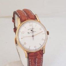 Relojes automáticos: ROSKOPF CUERVO Y SOBRINOS AUTOMATICO BUMPER NATIONAL WATCH FUNCIONANDO CIRCA 1950. Lote 235710570