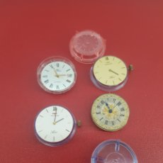 Relojes automáticos: LOTE DE 4 MAQUINARIAS DE VARIOS MODELOS. Lote 235844140