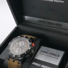 Relojes automáticos: MAGNIFICO RELOJ TIME FORCE CRONÓGRAFO PRO-SERIES 10 ATM. Lote 236145630