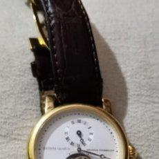 Relojes automáticos: RELOJ AUTOMATICO TOURBILLON BATISTE GENEVE 16 RUBIES. Lote 236425155