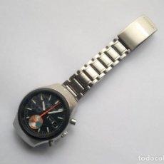 Relojes automáticos: CITIZEN 8100 CRONOGRAFO RELOJ PULSERA CABALLERO FLYBACK CHALLENGE TIMER CHRONOGRAPH NEGRO. Lote 236434795