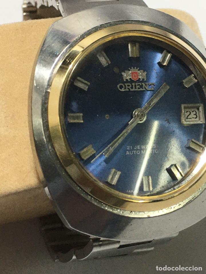 Relojes automáticos: RELOJ ORIENT-AUTOMATICO. AÑOS 70. CORONA ESTERIOR CHPADA RARA - Foto 2 - 236507740