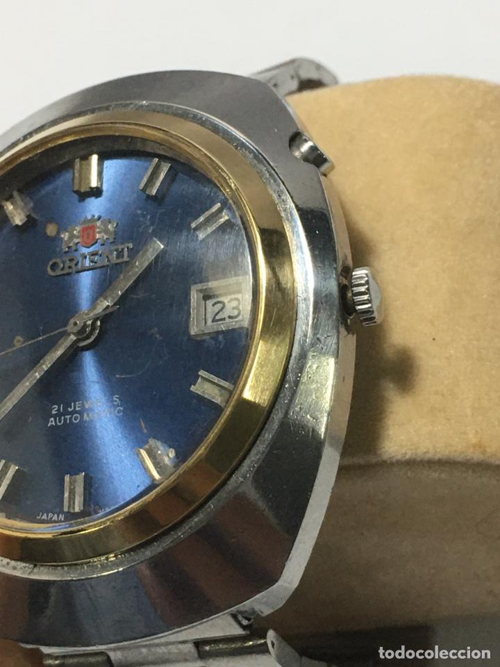 Relojes automáticos: RELOJ ORIENT-AUTOMATICO. AÑOS 70. CORONA ESTERIOR CHPADA RARA - Foto 3 - 236507740