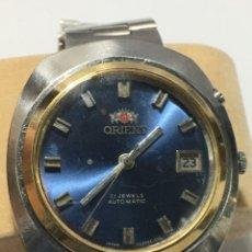Relojes automáticos: RELOJ ORIENT-AUTOMATICO. AÑOS 70. CORONA ESTERIOR CHPADA RARA. Lote 236507740