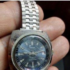 Relojes automáticos: RELOJ CABALLERO.SAKATA HIROSHIMATIC 17 JEWELS AZUL.SWISS. Lote 236562335
