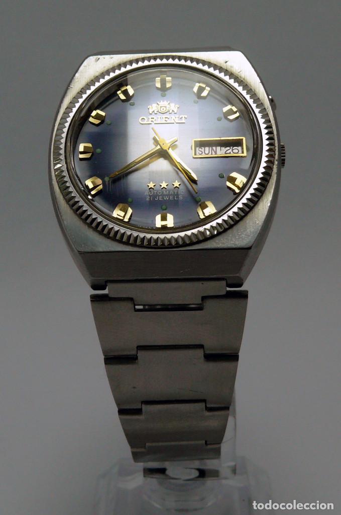 Relojes automáticos: Reloj ORIENT automatico cal. 46963 - Foto 9 - 236626570