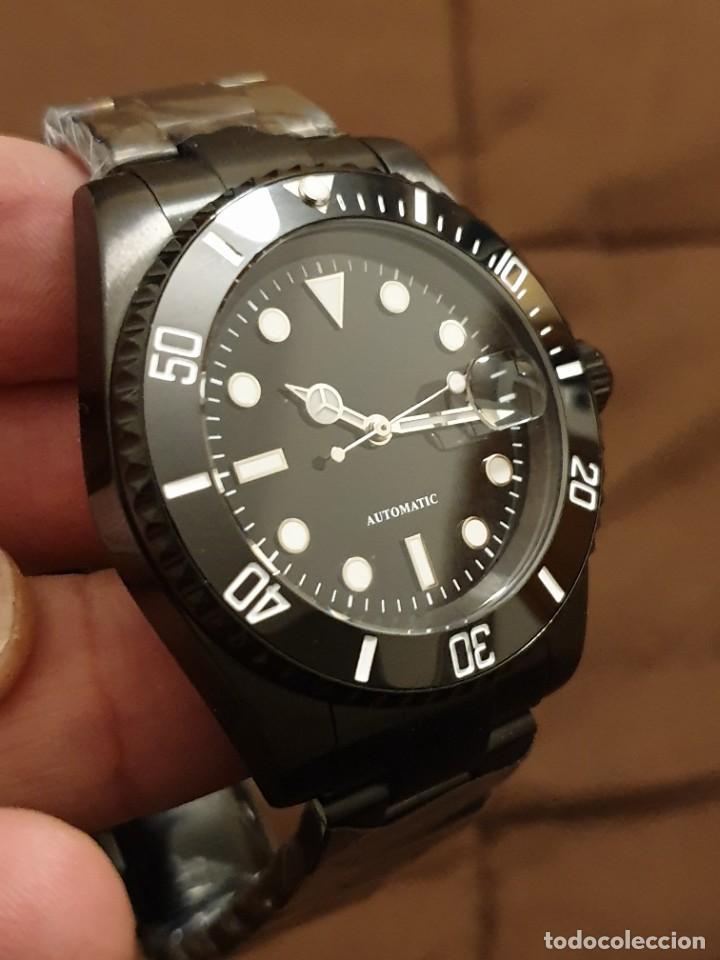 Relojes automáticos: Reloj BLACK SUBMARINER Esfera Estéril Automático Acero Inoxidable 316L - Foto 4 - 237091400