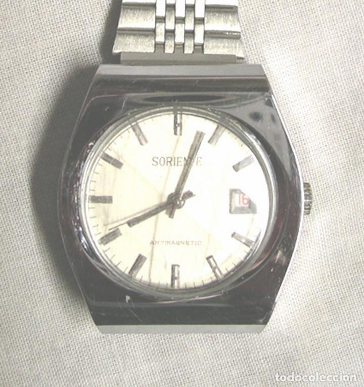 SORIENTE RELOJ PULSERA AUTOMÁTICO, FUNCIONA. MED. 3,6 CM (Relojes - Relojes Automáticos)
