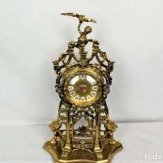 Relojes automáticos: BONITO RELOJ DE SOBREMESA EN BRONCE. Lote 240706190
