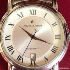 Relojes automáticos: ELEGANTE MAURICE LACROIX AUTOMÁTICO EN ACERO 39MM. Lote 241410250