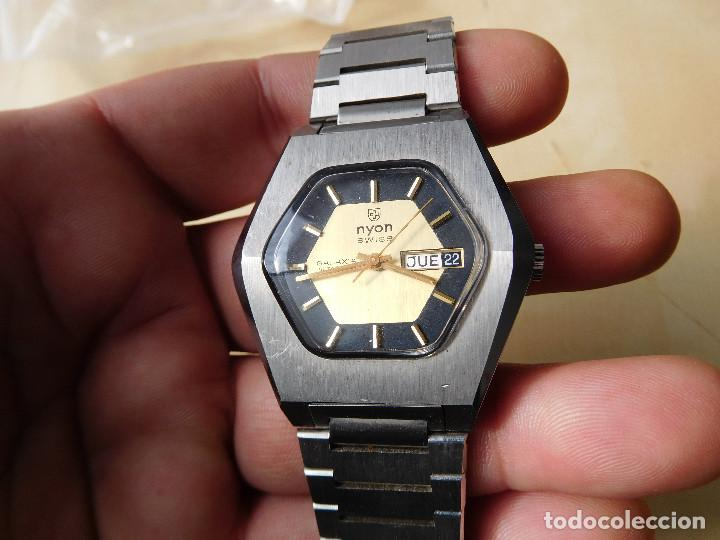 Relojes automáticos: Reloj automático de la marca Nyon NOS - Foto 2 - 241916640