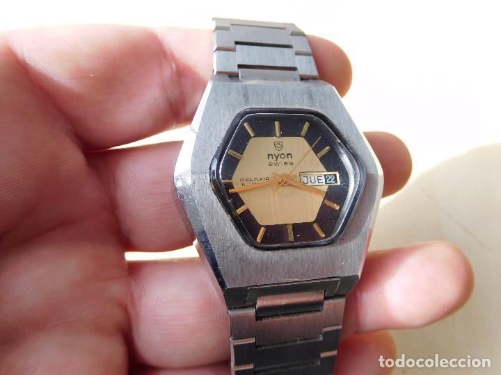 Relojes automáticos: Reloj automático de la marca Nyon NOS - Foto 3 - 241916640