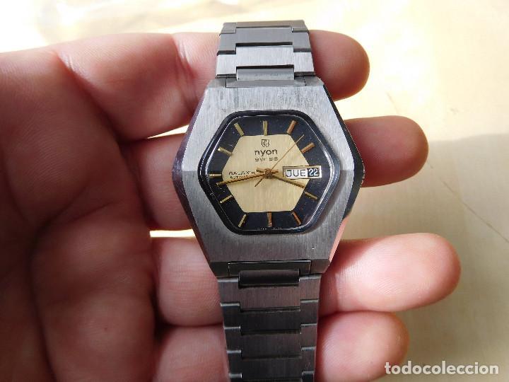 Relojes automáticos: Reloj automático de la marca Nyon NOS - Foto 4 - 241916640