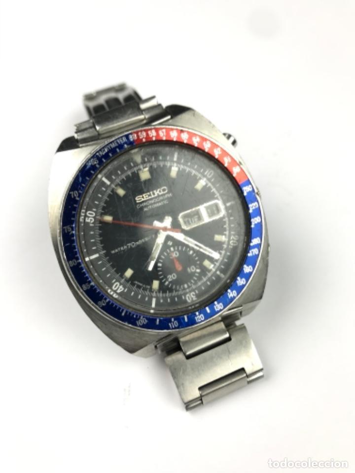 RELOJ SEIKO CHRONOGRAPF PEPSI AUTOMATIC WATER 70 RESIST -JAPAN 6139- (Relojes - Relojes Automáticos)