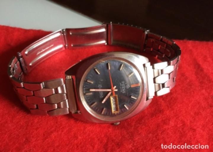 Relojes automáticos: Extraordinario Reloj Automático Potens 25 jewels Doble calendario - Foto 2 - 243009430