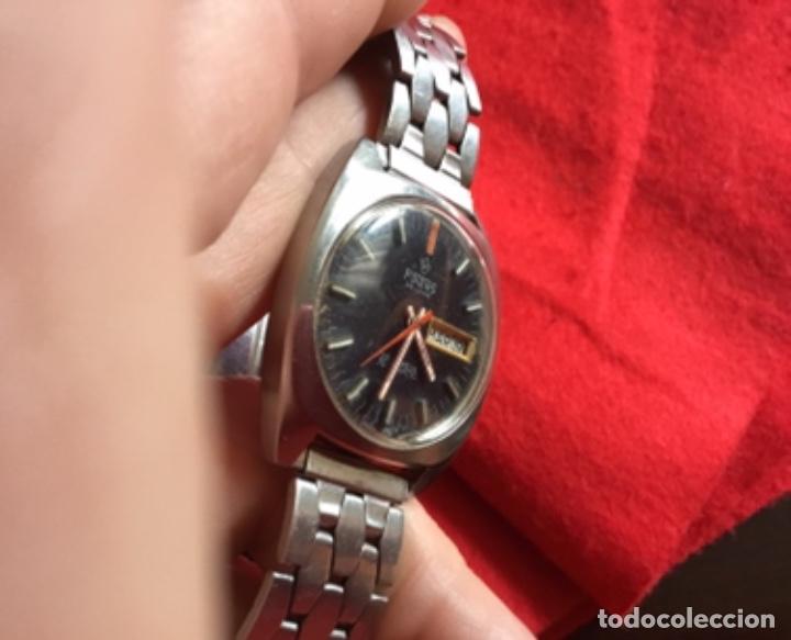 Relojes automáticos: Extraordinario Reloj Automático Potens 25 jewels Doble calendario - Foto 5 - 243009430