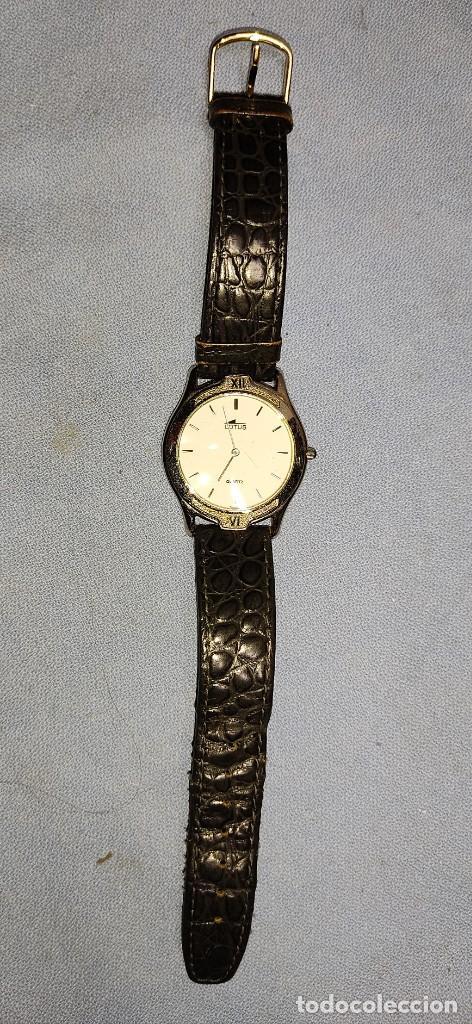 Relojes automáticos: ANTIGUO RELOJ DE PULSERA LOTUS - Foto 3 - 243150085