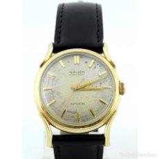 Relojes automáticos: GRUEN PRECISION AUTOMATIC. RELOJ DE PULSERA PARA CABALLERO. ORO 14K. CA. 1950. Lote 243954765