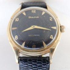 Relojes automáticos: BULOVA AUTOMATIC. RELOJ DE PULSERA PARA HOMBRE. CA. 1970. ORO 14K.. Lote 243954825