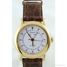 Relojes automáticos: MOVADO 1881 SUISSES. RELOJ AUTOMÁTICO DE COMPLICACIÓN DE CABALLERO. SERIE LIMITADA. ORO 18K.. Lote 243955105