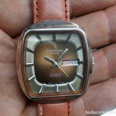 Relojes automáticos: RELOJ CERTINA ORO 25 JEWELLS..AUTOMATIC..MUY RARO..COMO NUEVO..VINTAGE.. Lote 244005175