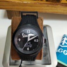 Relojes automáticos: RELOJ VESPA ORIGINAL NEGRO SIN ESTRENAR. Lote 244507115