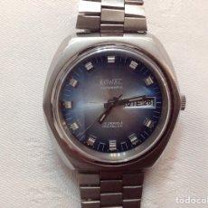 Relojes automáticos: EXCELENTE RELOJ SUIZO KOWAL AUTOMATICO 25 JEWELS CRISTAL NUEVO CON GARANTÍA. Lote 244580375