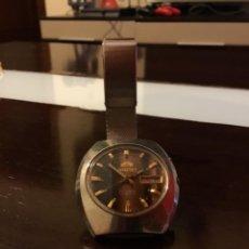 Relojes automáticos: RELOJ ORIENT AUTOMÁTICO 21 JEWELS DOBLE CALENDARIO CORREA ORIGINAL. Lote 244636770