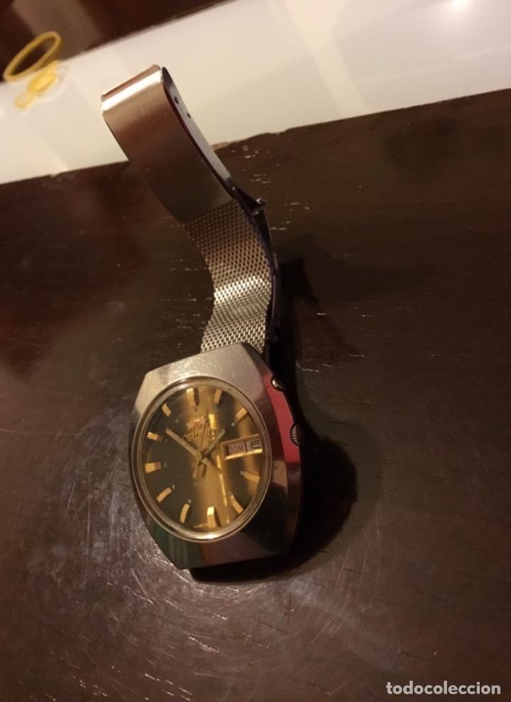 Relojes automáticos: Reloj Orient automático 21 jewels doble calendario correa original - Foto 4 - 244636770