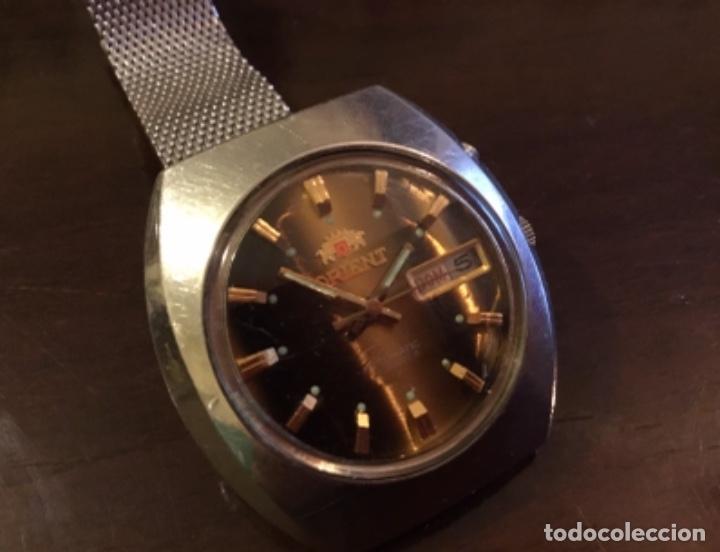 Relojes automáticos: Reloj Orient automático 21 jewels doble calendario correa original - Foto 5 - 244636770