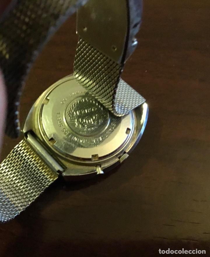 Relojes automáticos: Reloj Orient automático 21 jewels doble calendario correa original - Foto 9 - 244636770