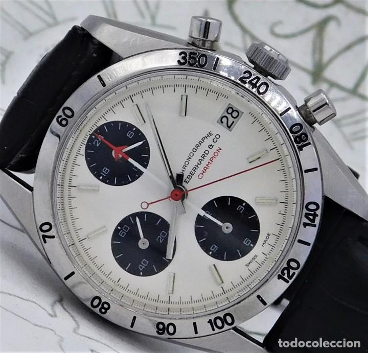 Relojes automáticos: EBERHARD-CRONOGRAFO-AUTOMATICO-PRECIOSO RELOJ DE PULSERA-FUNCIONANDO - Foto 2 - 244755155